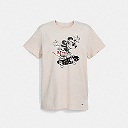 COACH F29070 Minnie Mouse T-shirt CHALK