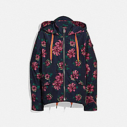 COACH F29072 Hawaiian Lily Windbreaker BF7