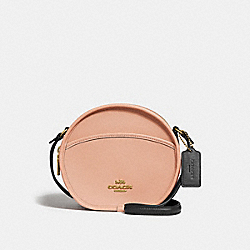 CANTEEN CROSSBODY IN COLORBLOCK - f29116 - SUNRISE MULTI/light gold
