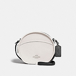 CANTEEN CROSSBODY IN COLORBLOCK - f29116 - CHALK MULTI/SILVER