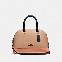 COACH F29119 - MINI SIERRA SATCHEL IN COLORBLOCK SUNRISE MULTI/GOLD