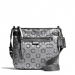 COACH F29121 Daisy Dot Oultine Signature File Bag