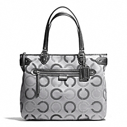 COACH F29122 Daisy Dot Outline Tote