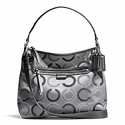 COACH F29124 - DAISY DOT OUTLINE CONVERTIBLE HOBO ONE-COLOR