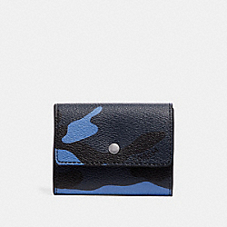 COIN CASE WITH CAMO PRINT - F29133 - DUSK MULTI