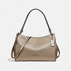 MIA SHOULDER BAG - f29137 - SILVER/PLATINUM
