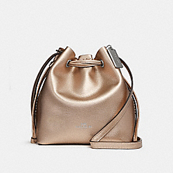 DERBY CROSSBODY - f29204 - ROSE GOLD/SILVER