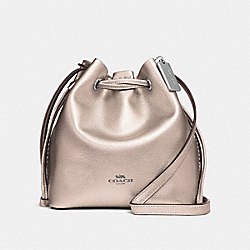 DERBY CROSSBODY - f29204 - SILVER/PLATINUM
