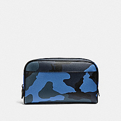 COACH F29267 Travel Kit With Camo Print DUSK MULTI