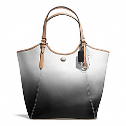 COACH F29283 Peyton Ombre Tote SILVER/CHARCOAL