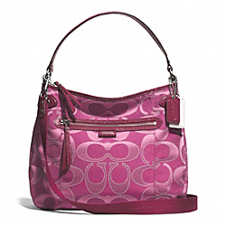 COACH F29308 - DAISY MULTI SIGNATURE CONVERTIBLE HOBO ONE-COLOR