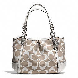COACH F29321 - ALEXANDRA CHAIN SHANTUNG TOTE ONE-COLOR
