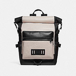 TERRAIN ROLL TOP BACKPACK - f29386 - CHALK/BLACK ANTIQUE NICKEL