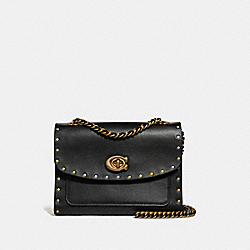 COACH F29389 Parker 18 With Rivets B4/BLACK