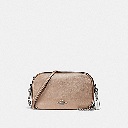COACH F29472 Isla Chain Crossbody SILVER/PLATINUM