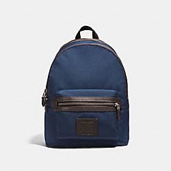 ACADEMY BACKPACK - F29474 - BRIGHT NAVY/CHESTNUT/BLACK ANTIQUE NICKEL