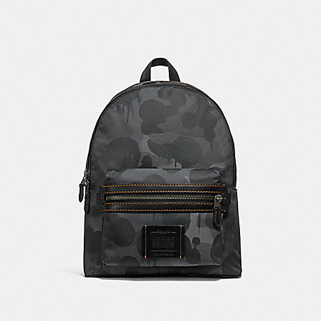 COACH F29476 ACADEMY BACKPACK WITH WILD BEAST PRINT JI/CHARCOAL
