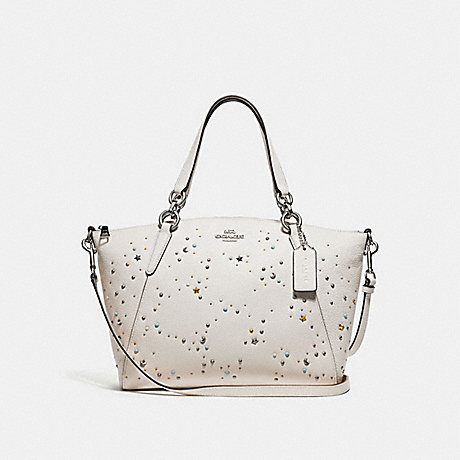 cee0cfb81e48 COACH F29597 - SMALL KELSEY SATCHEL WITH CELESTIAL STUDS - SILVER ...