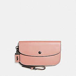 COACH F29770 Clutch DARK BLUSH/BLACK COPPER