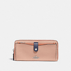 COACH F29940 Multifunction Wallet In Colorblock SUNRISE MULTI/LIGHT GOLD