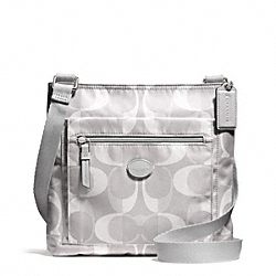 COACH F30043 - DREAM C FILE BAG SILVER/LIGHT GREY