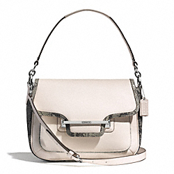 COACH F30141 Taylor Mixed Exotic Flap Shoulder Bag