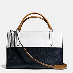 COACH F30383 The Colorblock Boarskin Borough Bag UECXE