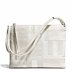 COACH F30475 The Patchwork Highrise UE/WHITE