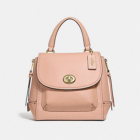 COACH f30525 FAYE BACKPACK nude pink/light gold