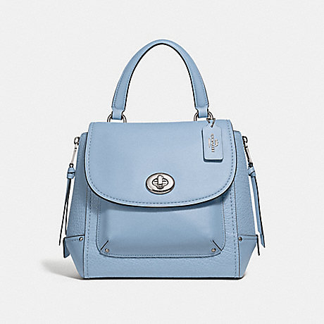 COACH F30525 FAYE BACKPACK CORNFLOWER/SILVER