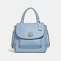 FAYE BACKPACK - F30525 - CORNFLOWER/SILVER