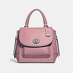 COACH F30525 Faye Backpack SILVER/DUSTY ROSE