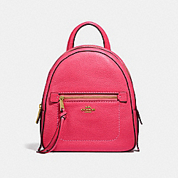 COACH F30530 Andi Backpack NEON PINK/LIGHT GOLD