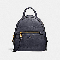 COACH F30530 Andi Backpack MIDNIGHT/LIGHT GOLD