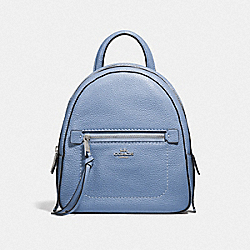 ANDI BACKPACK - F30530 - DARK PERIWINKLE/SILVER