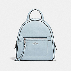 COACH F30530 Andi Backpack SILVER/PALE BLUE