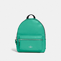 MEDIUM CHARLIE BACKPACK - F30550 - GREEN/SILVER