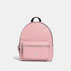 MEDIUM CHARLIE BACKPACK - F30550 - CARNATION/SILVER