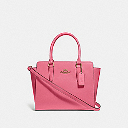 LEAH SATCHEL - F30555 - STRAWBERRY/IMITATION GOLD