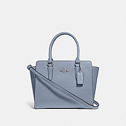 COACH F30555 - LEAH SATCHEL STEEL BLUE