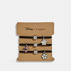 COACH F30798 Minnie Mouse Hair Ties MULTICOLOR