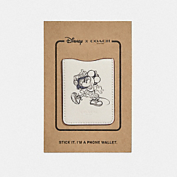 POCKET STICKER WITH BOOMBOX MINNIE MOUSE - f30800 - CHALK