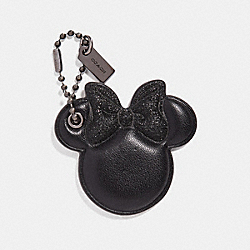 MINNIE MOUSE BOW HANGTAG - f30903 - MULTI/BLACK