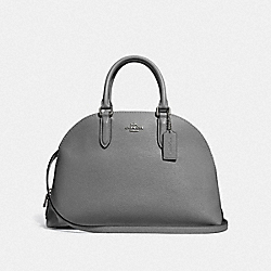 COACH F30951 - QUINN SATCHEL DK/HEATHER GREY