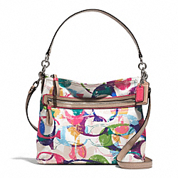 COACH F31143 - STAMPED C HIPPIE SILVER/MULTICOLOR