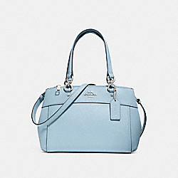 MINI BROOKE CARRYALL - f31251 - SILVER/PALE BLUE