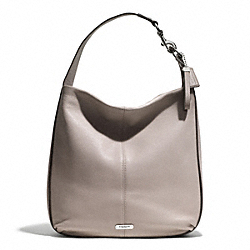 PARK AVERY STUDDED HOBO - f31287 - SILVER/PUTTY