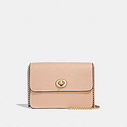 BOWERY CROSSBODY - f31385 - BEECHWOOD/light gold
