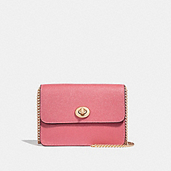BOWERY CROSSBODY - f31385 - PEONY/light gold