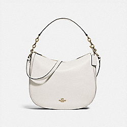 COACH F31399 Elle Hobo CHALK/LIGHT GOLD